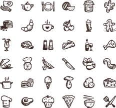 Tasty Icons Free — 36 free food icons