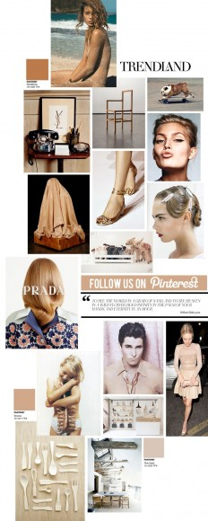 Curating the Curated: Sand | Trendland: Fashion Blog & Trend Magazine | S/S 15 | Pinterest