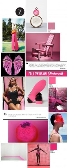 Curating the Curated: Hot Pink | Trendland: Fashion Blog & Trend Magazine | ***TREANDS | Pinterest