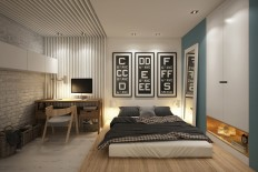 Cozy studio - 40 square meters transformed by Curly Design