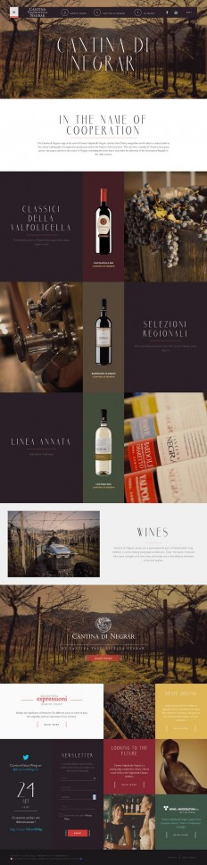 products list, website's layout. #grid #webdesign #wine | ? Web design ? | Pinterest