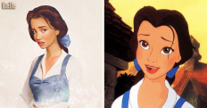 12 Disney Princesses That Just Got Realistic Makeovers...I Can't Get Over Pocahontas. WOW - Dose - Your Daily Dose of Amazing