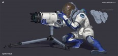 ArtStation - Science Expedition Scout, David Heidhoff