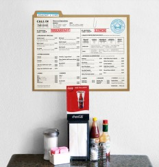Art of the Menu: Record Grill