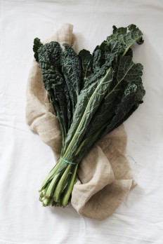 fork and flower: cavolo nero with lemon & grapes