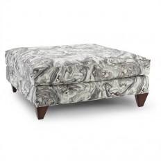 Stella Ottoman in Zinc | Homeware Furniture & Home Decor