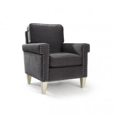 Fitch Accent Chair in Magnet Gray | Homeware Furniture & Home Decor