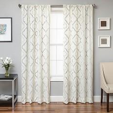 Monza Window Curtain Panel - BedBathandBeyond.com