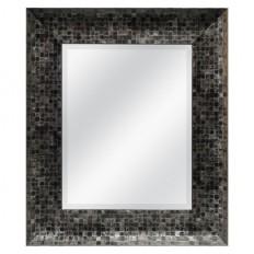Mosaic Mirror - Pewter & Black 22.5x24.5 : Target