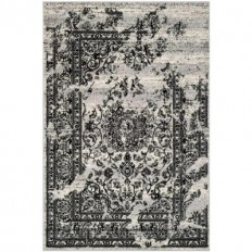 Safavieh Adirondack Silver/Black 8 ft. x 10 ft. Area Rug-ADR101A-8 - The Home Depot