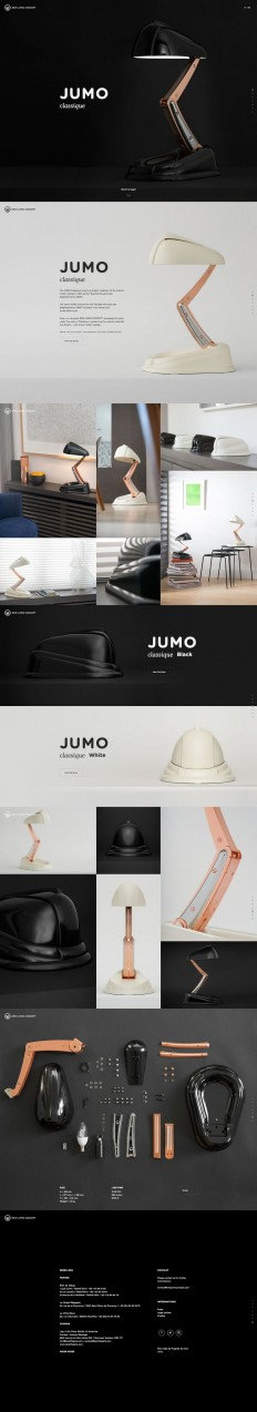 Jumo Lamp | Web Design | Pinterest