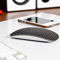 Carbon fiber adds a textured weave to the surface of your Magic Mouse. This greatly enhances usability by allowing your fingers to swipe with ease,… | Pinterest