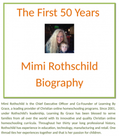 The First 50 Years – Mimi Rothschild Biography | Bio of Mimi Rothschild