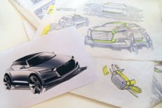 behind the scenes at the AUDI concept design studio