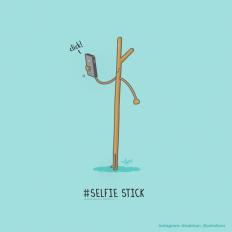 Selfie Stick! by NaBHaN on DeviantArt