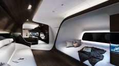 mercedes-benz and lufthansa collaborate on refining the VIP aircraft cabin