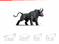 Bull / Logo Design by simc