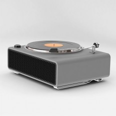 Turntable concept designed by Ahmad Bittar for Porsche | Product Design | Pinterest