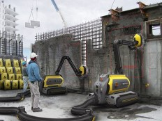 "Recycling Robot Of The Future ""Erases"" Concrete Buildings"