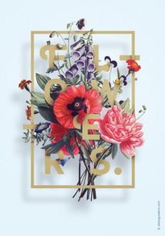 RAWZ — SERIES OF ILLUSTRATIONS «FLOWER»