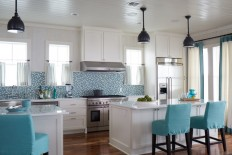 House of Turquoise: Tracery Interiors