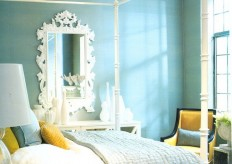 House of Turquoise: Sunny Blue Bedroom