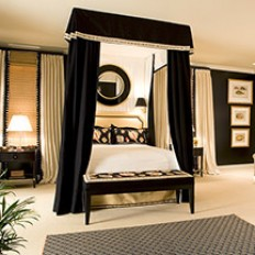 Washington DC Bedroom, Sleek Summer Suite - Kelley Interior Design, DC, MD, VA
