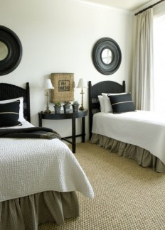 Guest Room - beach-style - Bedroom - Other Metro - Liz Williams Interiors