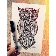 Zentangle Design Trend: 35 Inspiring Examples | inspirationfeed.com