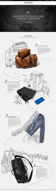 Coach Gentlemen's List by Kathrin Laser, via Behance | for work! | Pinterest