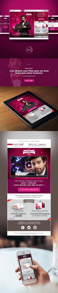 Nocibé - Une nocibelle fête - website on