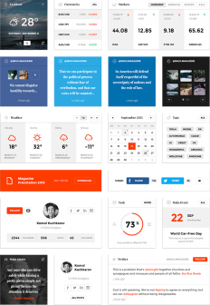 Snug. UI Kit on