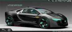 Concept cars - Jaguar XL-01 by pawat chaix ( Pawat Chaichanavichkij)