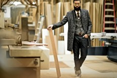 Woodwork...Hellman Chang Studio, Bushwich, Brooklyn — DAPPER LOU