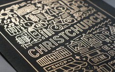 FPO: Garden City Gold Foil Art Prints