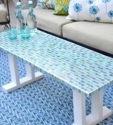 Centsational Girl » Blog Archive DIY Tile Outdoor Table - Centsational Girl