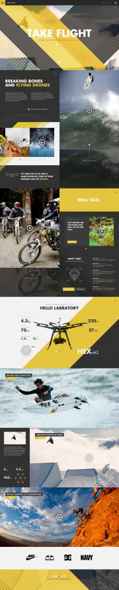 Hello Aerial Full by Gene Ross on Inspirationde