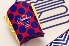 Brand New: New Logo and Identity for Bembos by Infinito