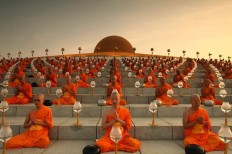 architags - architecture & design blog — scalesofperception: Wat Phra Dhammakaya | Via ...