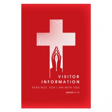 Folder Template: Church Visitors Welcome Folder Design
