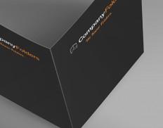Open Overhead Folder Mockup Template (Free PSD)