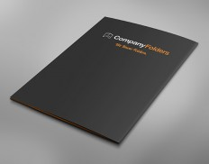 Back Cover Business Folder Mockup Template (Free PSD)