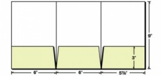 Custom Printed 6x9 3 Pocket Tri-Panel Small Presentation Folder
