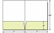 Custom Printed 7x10 2 Pocket Presentation Folder