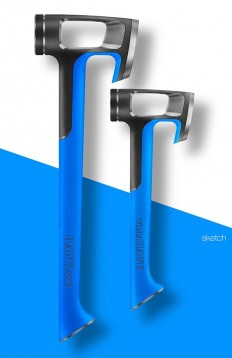 HAWKaxe and tomaHAWK tools on Behance | Product Design Inspiration | Pinterest