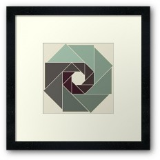 """Shutter"" Framed Prints by metron 