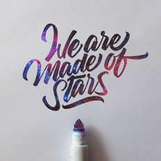 We are made of Stars on Inspirationde
