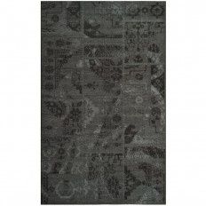 Safavieh Palazzo Black/Grey 4 ft. x 6 ft. Area Rug-PAL121-56C6-4 - The Home Depot