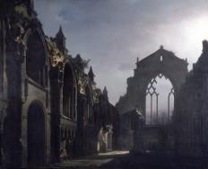 The_Ruins_of_Holyrood_Chapel_(Louis_Daguerre),_1824_(Google_Art_Project).jpg (JPEG-bilde, 3481×2843 piksler) - Skalert (29 %)