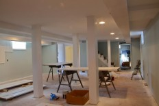 Basement With The Right Paint Color Choice : Home Decorative